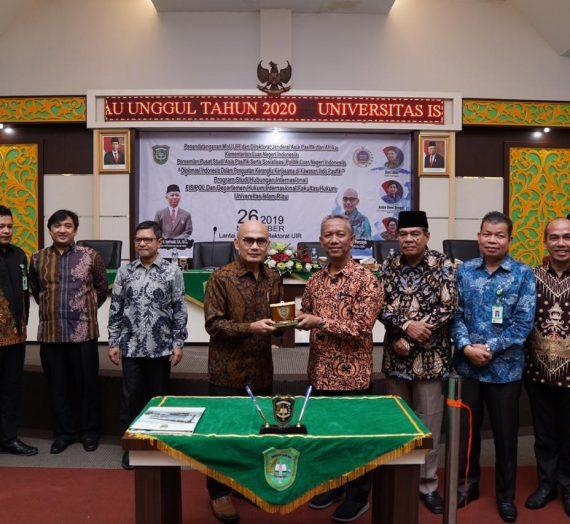 UIR Tingkat Pendidikan Melalui Kementerian Luar Negeri Indonesia
