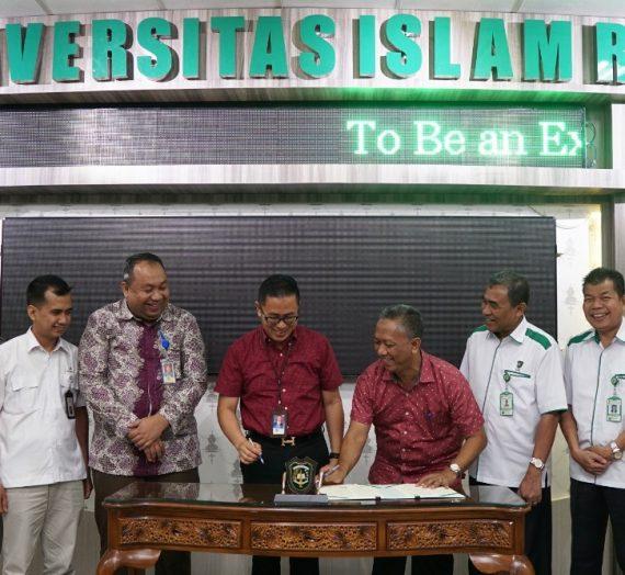 MoU Migas Center Tahap II PT. Chevron Pasific Indonesia dan UIR