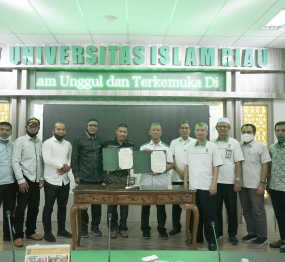 Audiensi dan Penandatanganan MoU Pemerintah Kecamatan Pulau Merbau dengan Universitas Islam Riau