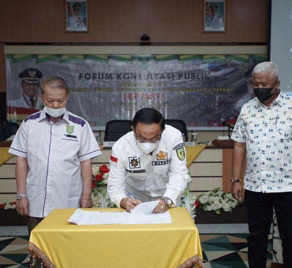 Penandatanganan MoU UIR & Pemkab Inhil